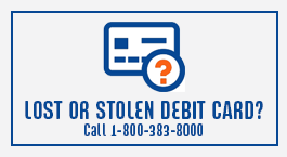 Lost or Stolen Debit Card 2019