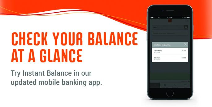 Check Balance Newsletter Ad