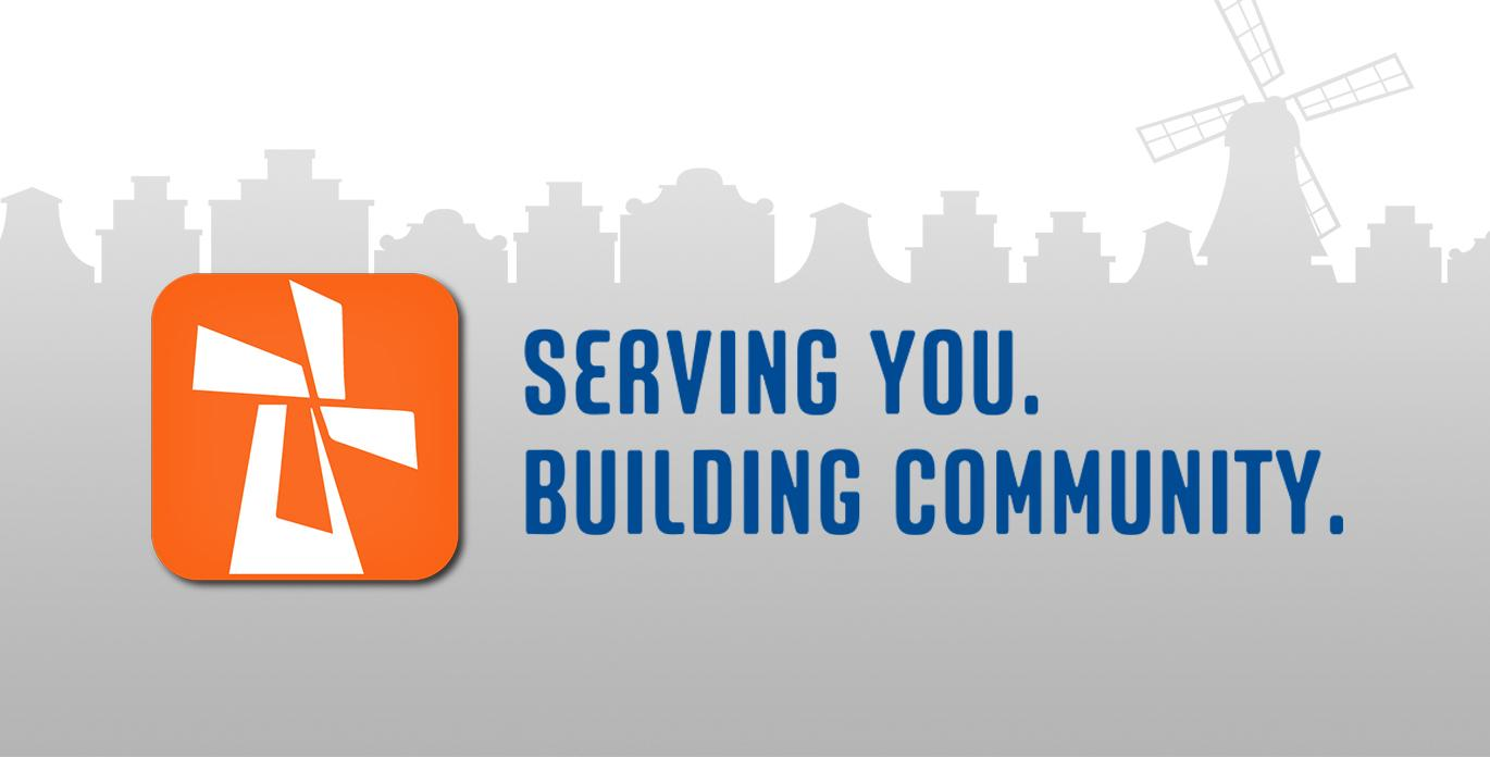 Serving You Building Community Tagline