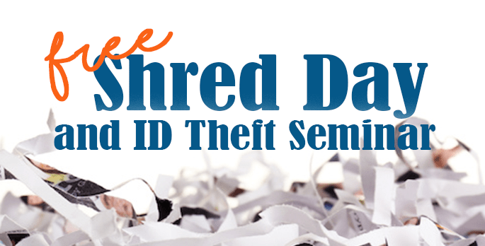 Image of Shred Event and ID Theft Educational Seminar