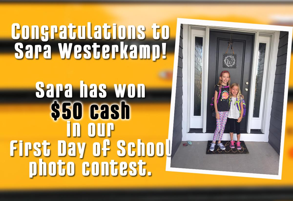 First School Picture Winner Announcement