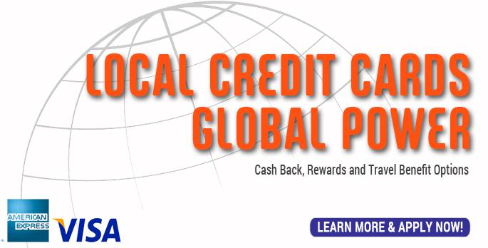 Local Credit Cards Global Power